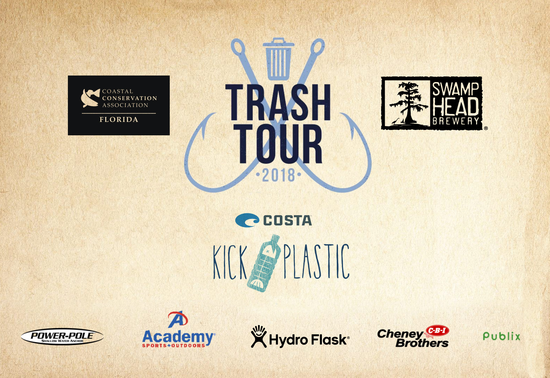 Florida Waterways Trash Tour 2018