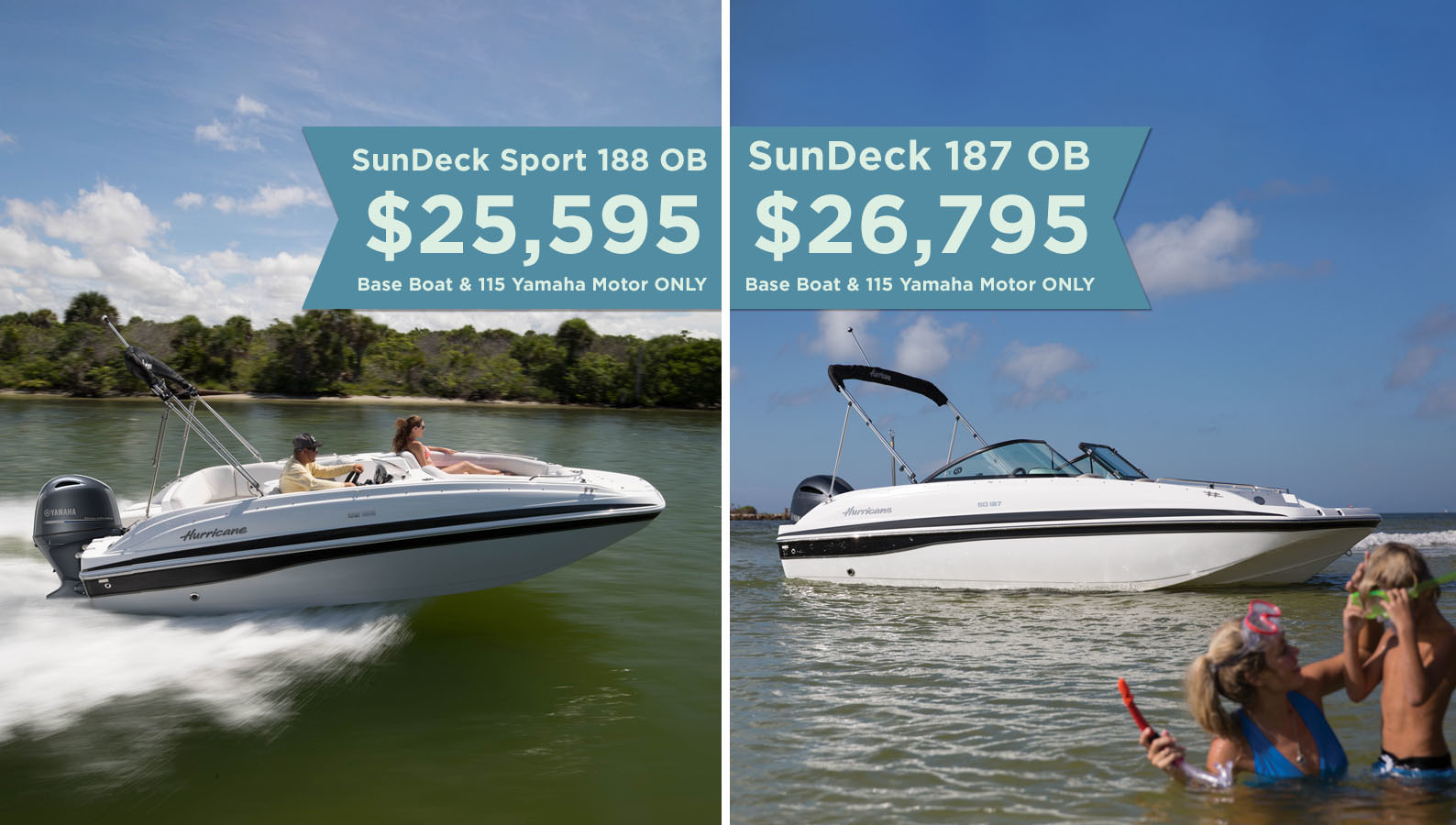 2019 Hurricane Sundeck Boats Sale
