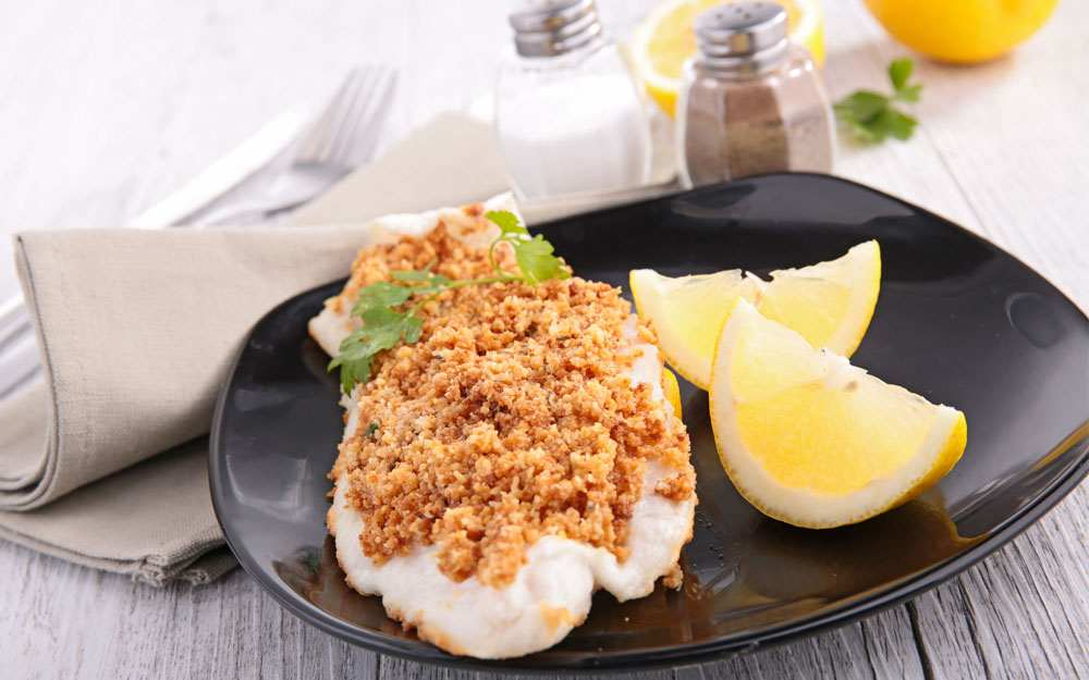 Pecan Crusted Largemouth Bass