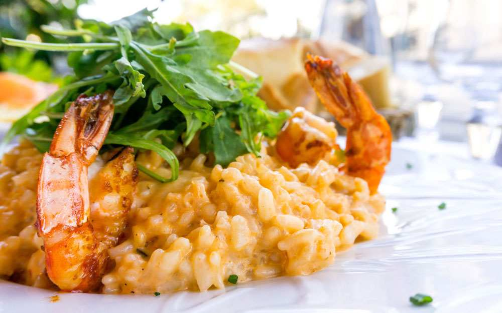 Shrimp and Scallop Seafood Risotto