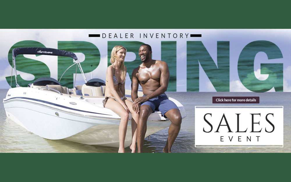 2019 Hurricane Spring Savings Event