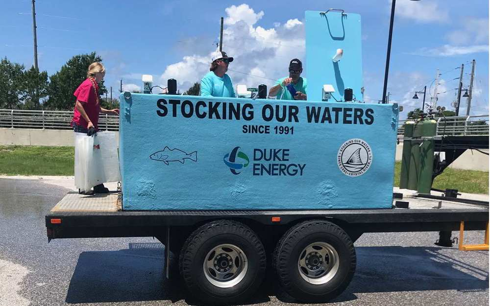 CCA,. Duke Energy, FWC Redfish Release 2019