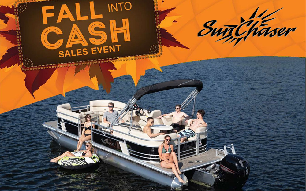 SunChaser's Fall Into Cash 2019 Savings Event