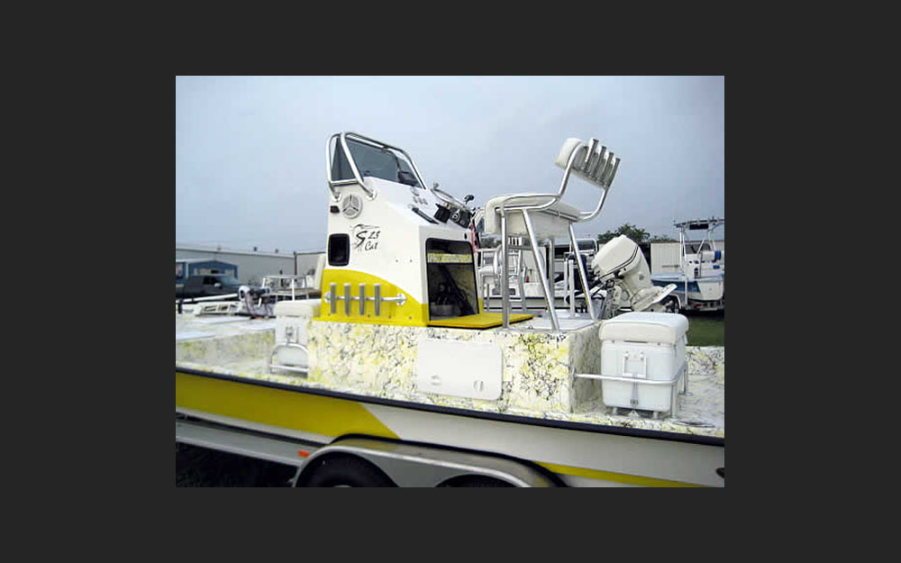 Shoalwater 23 Cat With Raised Console