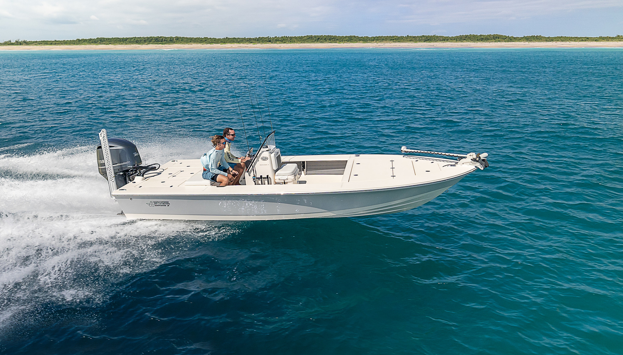 Hewes Redfisher 21 Flats Boat