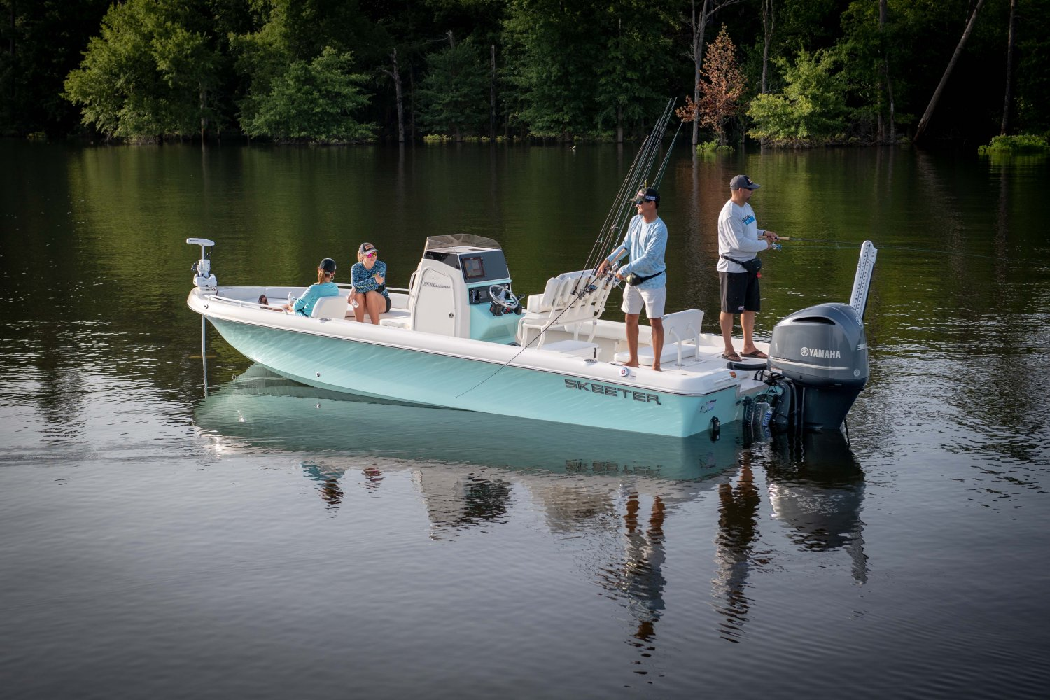 Skeeter SX2550 Fish: Lets Dive In